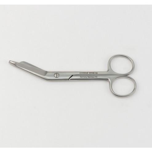 """vedena® Verbandschere LISTER, kniegebogen, 140 mm (5 ½"""")"""