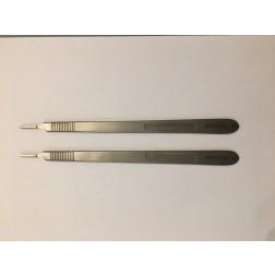 B-Ware / vedena® Skalpellgriff Fig. 3, langes Modell, 210mm