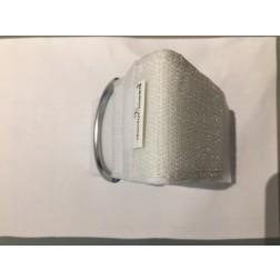 """B-Ware / doctor'sneed® Gelenk-Fixierungsband, weiß, mit Innenpolster und Klettverschluss, 300x50 mm (12 x 2"""")"""