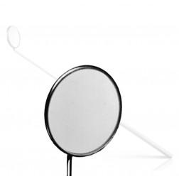 """vedena® Kehlkopfspiegel mit festen Griff, Fig. 9 = außen ∅ 28,0 mm, 180 mm (7 ⅛"""")"""