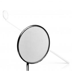 """vedena® Kehlkopfspiegel mit festen Griff, Fig. 10 = außen ∅ 30,0 mm, 180 mm (7 ⅛"""")"""
