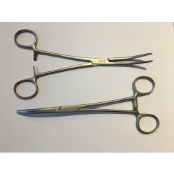 """B-Ware / vedena® Arterienklemme ROCHESTER PEAN, anatomisch, gebogen, 200 mm (8"""")"""