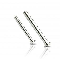 """vedena® Röhrenspekulum, Messing, klein, 30x300 mm (1 ⅛ x 12"""")"""